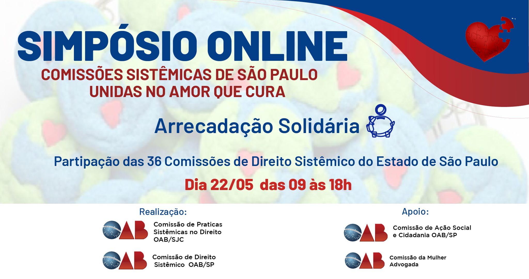 Simpósio on line OAB SP 08.05.20